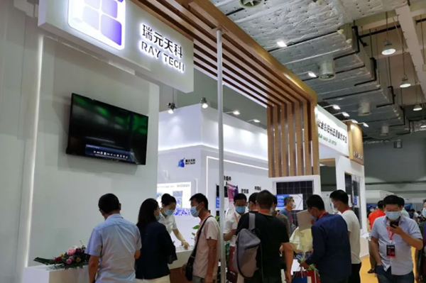 Raytech Takes Part in the Solar Energy Exhibition in Jinan and Enjoys Wide Popularity at Its TikTok Live Streaming Debut