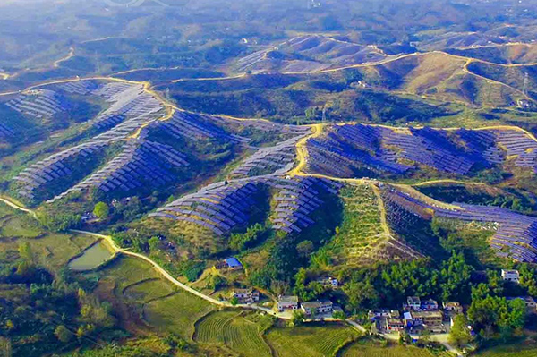 Anhui Mountainous Utility Solar Project