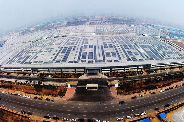 Hisense Factory Commercial On-gird Solar Project